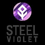 logo steel violet